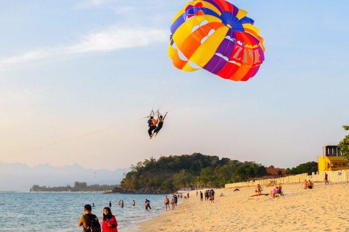 Beach Parasailing
